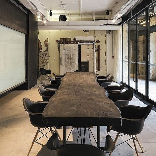 Triptyc Salle De Reunion Design Table Design